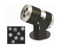 Proiettore Laser A Led Fiocchi Di Neve Luci Natalizie Da Interno Soriani Snowflake
