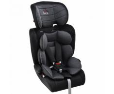 Seggiolino Auto Per Bambini Gruppo 1/2/3 0-36kg Benzoni Nero E Grigio