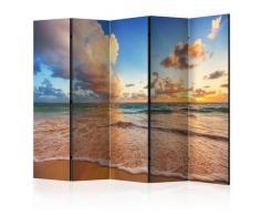 Paravento 5 Pannelli - Morning By The Sea Ii 225x172cm Erroi