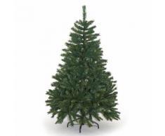Albero Di Natale Artificiale Alpino Verde Ignifugo 1085 Rami Altezza 180cm