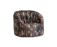 Poltrona Pouf Tortuga In Nylon Design Camouflage Avalli