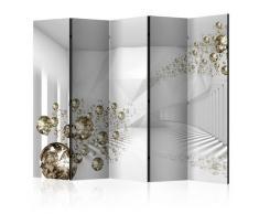 Paravento 5 Pannelli - Diamond Corridor Ii 225x172cm Erroi