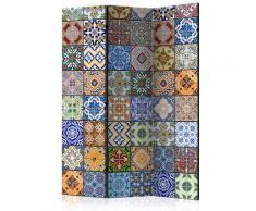 Paravento 3 Pannelli - Mosaico Colorato 135x172cm Erroi