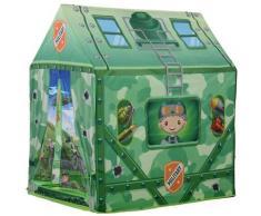 Tenda Casetta Per Bambini 93x69x103 Cm Benzoni Mimetica Verde