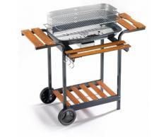 Barbecue A Carbone Carbonella In Acciaio Ompagrill 60-40/alc