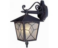 Lampada Lanterna Da Parete 60w Bauer Classic Bronzo Antico