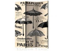 Paravento 3 Pannelli - Vintage Umbrellas 135x172cm Erroi