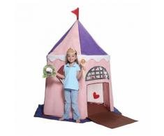 Casetta Tenda Bambini In Tessuto Bazoongi Fairy Princess Castle