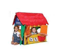 Casetta Tenda Bambini In Tessuto Bazoongi Learning Cottage