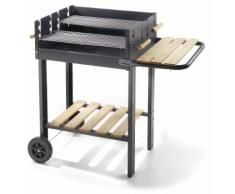 Barbecue A Carbone Carbonella In Acciaio Ompagrill 52-47 Eco