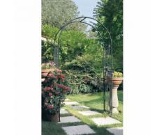 Arco Da Giardino In Ferro 40x120xh218cm Rama Arch Verde