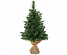 Mini Albero Di Natale Artificiale 60 Cm 70 Rami Hmc Pino Verde