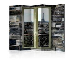 Paravento 5 Pannelli - Parisian View Ii 225x172cm Erroi