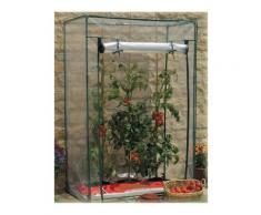Serra Per Pomodori Da Giardino In Alluminio Verniciato E Copertura In Pvc