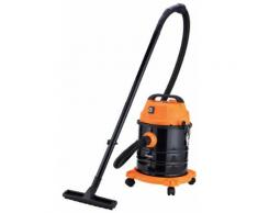 Bidone Aspirapolvere Aspiratore Solidi E Liquidi 1200w Qlima Wdz520 Nero E Arancione