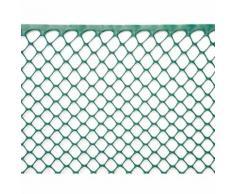 Rete Esagonale Da Giardino 15mm In Plastica 1x30m Rama Mirror Verde
