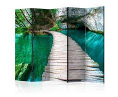 Paravento 5 Pannelli - Emerald Lake Ii 225x172cm Erroi