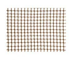 Rete Quadra Da Giardino 10mm In Plastica 1x30m Rama Mirror Marrone