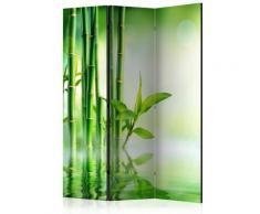 Paravento 3 Pannelli - Green Bamboo 135x172cm Erroi