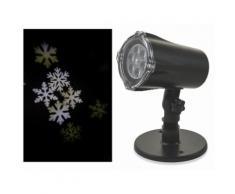 Proiettore Laser A Led Neve E Babbo Natale Luci Natalizie Da Interno E Esterno Soriani Snowflake