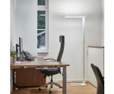 Logan - lampada da terra LED office, dimmer 4000K