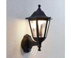 Lanterna LED da esterni Iavo con sensore