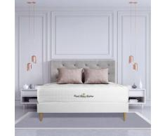 Materasso Buckingham 130 x 200 cm , Spessore : 30 cm, Memory foam, Bilanciato, 7 zone di comfort