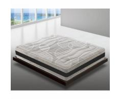 Materasso Piazza e Mezza 140x200 a Molle Insacchettate e Memory Foam – 7 Zone di Comfort –