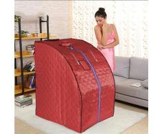 Oobest - Sauna a Infrarossi,Portatile Personale Spa - Rosso