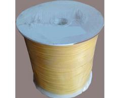 Emmecci - Filo per decespugliatore tondo mm.2,4 bobina Mt.215 matassa tagliaerba Giallo