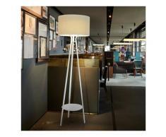 Lampada da terra LED design moderno stile minimale Slide Allure   Colore: Bianco