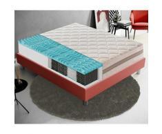 Materasso 800 Molle Insacchettate e Memory Foam 9 Zone Differenziate 22cm Altezza 160x200