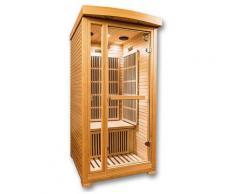 Sauna a raggi infrarossi RUBY da 1 posto