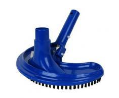 Scopa Aspiratore Mezzaluna Blu per pulizia ed aspirazione piscina