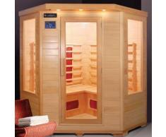 Essence Arredo Bagno - Sauna a Infrarossi in Legno per 4 persone 150x65x120 | Lux