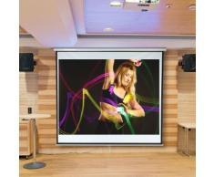 178x178CM schermo beamer proiettore home cinema proiettore schermo di proiezione rollo