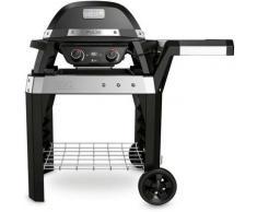 Barbecue elettrico Weber Pulse 2000 con Carrello 2.2 W Doppia Zona Cottura