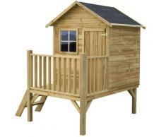 Milani Home - MERIDA - casetta in legno per bambini