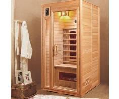 Sauna a raggi infrarossi MARIANA 2 da 1 posto