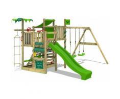 No_brand - FATMOOSE Parco giochi in legno CrazyCoconut Giochi da giardino con altalena e scivolo