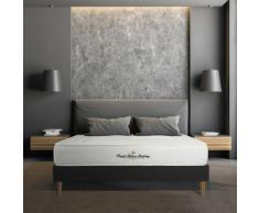 kit rete e materasso matrimoniale Nottingham 140 x 210 cm - Spessore : 20 cm - memory foam - rigido