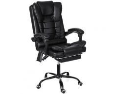 Sedia da gioco per massaggi da ufficio Sedia da corsa per giocatori, reclinabile 135 °