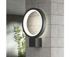 Applique da esterni LED Ring, grigio grafite