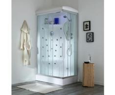 Cabina Doccia Multifunzione 70X110 Iride Sinistra Con Sauna