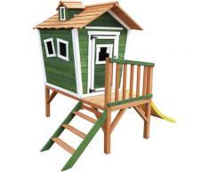 Casetta Per Bambini Outdoor Toys Niké 2,21 m² de 175x131x205 cm con Portico Scalette e Scivolo