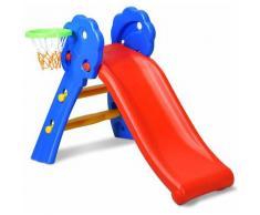 Scivolo con Cerchio di Pallacanestro Ideale per i Bambini, Capacit