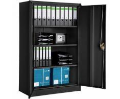 Armadio portadocumenti a 4 scomparti - cassettiera portadocumenti, armadio 2 ante, armadio