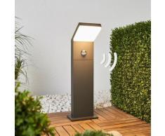 Lampioncino LED Yolena con sensore, 60 cm