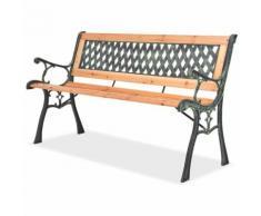 Panchina da Giardino 122 cm in Legno