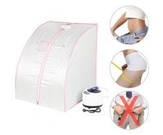 Sauna a vapore Box sauna portatile Disintossicazione interna pieghevole Bellezza della pelle con